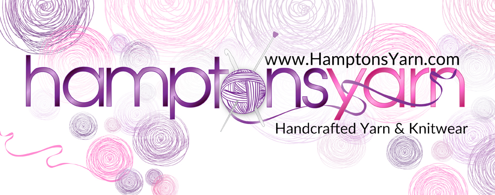 Hamptons Yarn handspoun handmade from raw fiber to finished luxury yarn